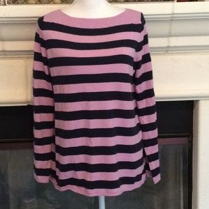 Gap striped stretchy sweater lavender: color 2021